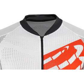 Compressport Cycling On/Off Maillot Fietsshirt korte mouwen wit